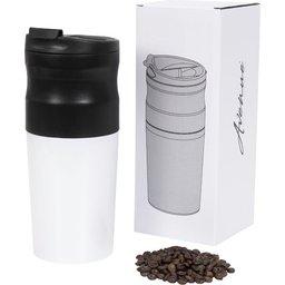 Draagbaar koffiezetapparaat bedrukken