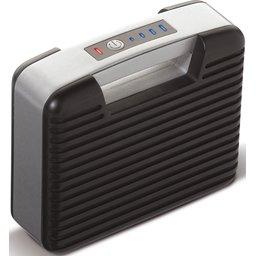 Draagbare Powerbank met Vibe Speaker
