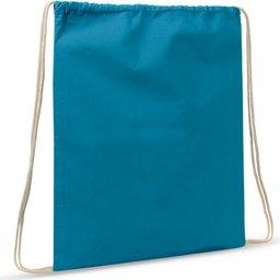 Drawstring Oeko-Tex® Cotton 35 x 45 cm-blauw