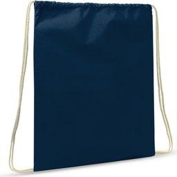 Drawstring Oeko-Tex® Cotton 35 x 45 cm-donkerblauw