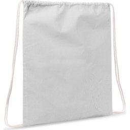 Drawstring Oeko-Tex® Cotton 35 x 45 cm-wit