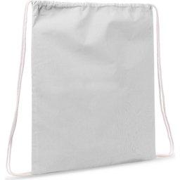 Drawstring Oeko-Tex® Cotton 35 x 45 cm-wit