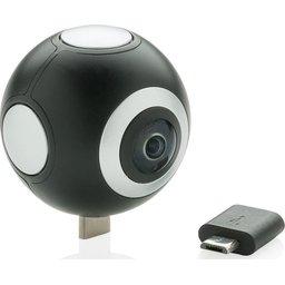 Dual lens 360 graden camera bedrukken