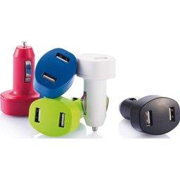 Duo auto USB oplader bedrukken