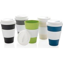 Eco bamboe koffie beker - 430 ml