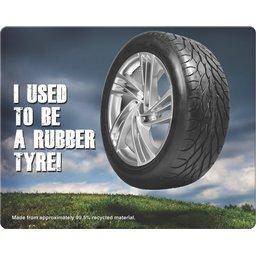 Eco Tyre muismatten