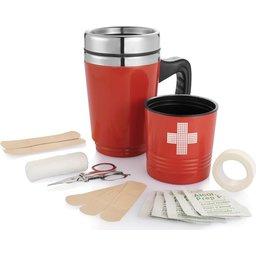 Eerste hulp koffie mok bedrukken