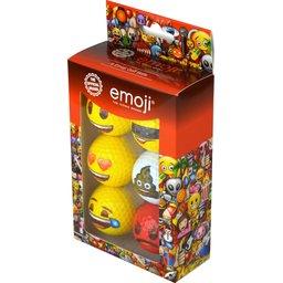 Emoji golfballen