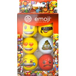 Emoji golfballen bedrukken