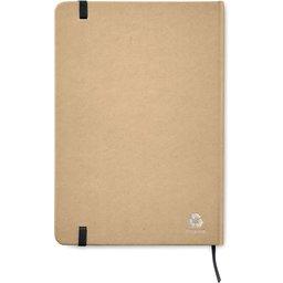 Everwrite A5 notitieboekje-zwart achterzijde