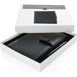 Executive 8GB USB notitieboek met stylus pen-open verpakking