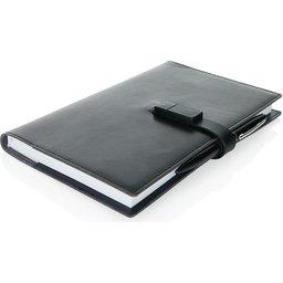 Executive 8GB USB notitieboek met stylus pen-personalisatie