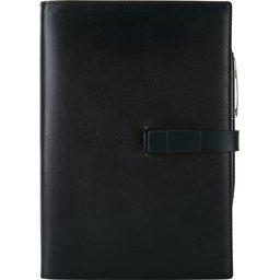 Executive 8GB USB notitieboek met stylus pen-voorzijde