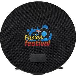 Fabric Bluetooth speaker met standaard