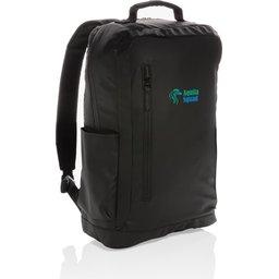"""Fashion black PVC vrije 15.6"""" laptop rugtas bedrukt"""