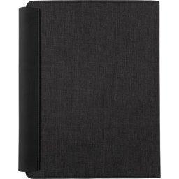 Fiko A4 portfolio met draadloos opladen& 5.000 mAh powerbank-achterzijde