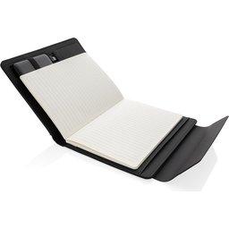 Fiko A5 portfolio met draadloos opladen & 5000mAh powerbank-notitieboek