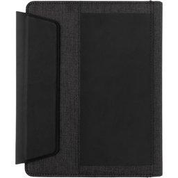 Fiko A5 portfolio met draadloos opladen & 5000mAh powerbank-voorzijde