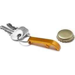 Flesopener met sleutelhanger