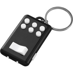 Flip en klik sleutelhanger met lampje bedrukken