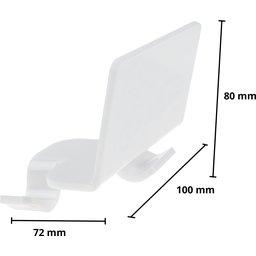 Flipper-white-10-afmetingen