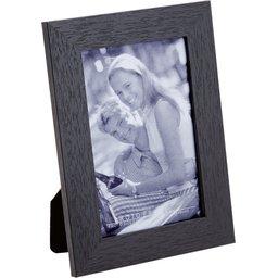 Fotolijst met houten frame zwart