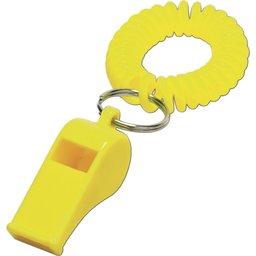 Geel Fluitje polsband