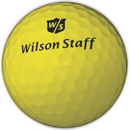gele golfballen bedrukken