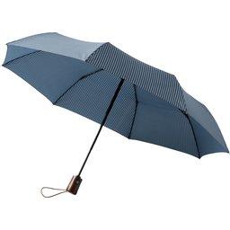 Gestreepte opvouwbare paraplu