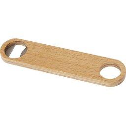 Green Concept houten flesopener met hanger