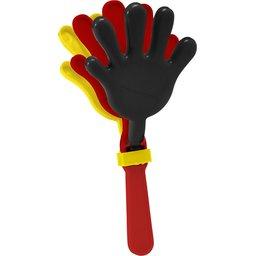 handenklapper belgie zwart geel rood