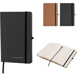 Hardcover Notebook A5 Recycled Leer-overzicht