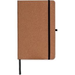 Hardcover Notebook A5 Recycled Leer-recht