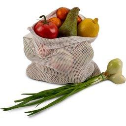Herbruikbaar Groente & Fruit zakje Oeko-Tex Katoen 30 x 40 cm-voorbeeld