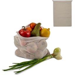 Herbruikbaar Groente & Fruit Zakje Oeko-Tex® Katoen 30 x 40cm-voorbeeld