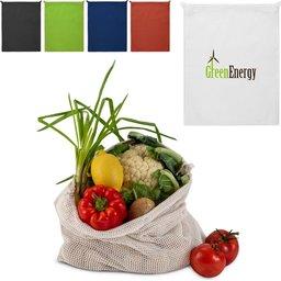 Herbruikbaar Groente & Fruit Zakje Oeko-Tex® Katoen 40 x 45cm-assortiment