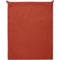 Herbruikbaar Groente & Fruit Zakje Oeko-Tex® Katoen 40 x 45cm-rood