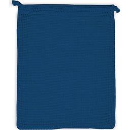 Herbruikbare Groente & Fruit Zakje Oeko-Tex® Katoen 25 x 30 cm-donkerblauw