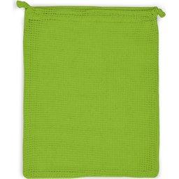 Herbruikbare Groente & Fruit Zakje Oeko-Tex® Katoen 25 x 30 cm-lichtgroen
