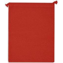 Herbruikbare Groente & Fruit Zakje Oeko-Tex® Katoen 25 x 30 cm-rood zijde 2