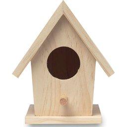 Houten vogelhuisje bedrukken