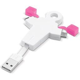 human kabel roze