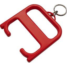 Hygiënesleutel met sleutelhanger