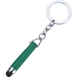 Hygiënisch touchscreen sleutelhanger groen
