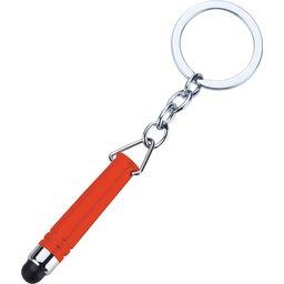 Hygiënisch touchscreen sleutelhanger rood 2