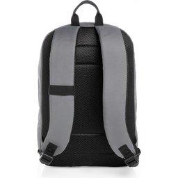 "Impact AWARE™ RPET Basic 15,6"" laptoprugzak-achterzijide grijs"