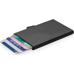 Kaarthouder C-Secure aluminium RFID bedrukken
