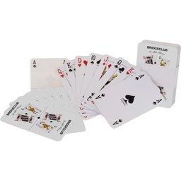 Kaartspel bedrukken met logo