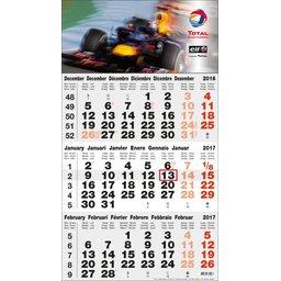 kalender grijs