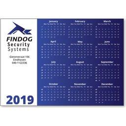 Kalender magneten bedrukken